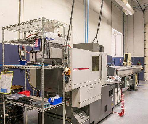 precision CNC machine shop